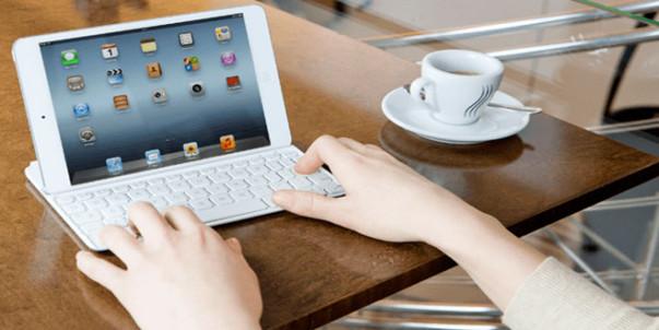 blogging via ipad
